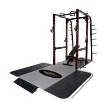 Pro Maxima PL365 Pro Full Power Rack w/ Rubber Platform