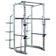 Pro Maxima FW163 Competition Power Rack w/ Wide Angle Base and Weight Storage Rack