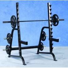 Pro Maxima PL127 Squat Rack w/ Weight Storage