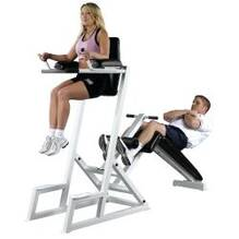 Pro Maxima PL70 Dual Abdominal and Dip Station