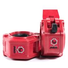 Lock-Jaw Pro Barbell Collar Red
