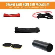 Orange Basic Home Gym Package #4