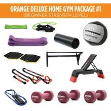 Orange Deluxe Home Gym Package #1