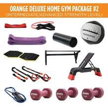 Orange Deluxe Home Gym Package #2