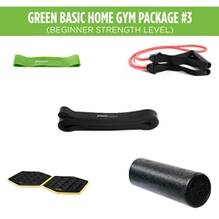 Green Basic Home Gym Package #3