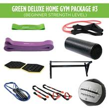 Green Deluxe Home Gym Package #3