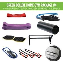 Green Deluxe Home Gym Package #4