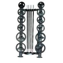 Deluxe CardioBarbell Rack 10 Set Storage Rack ONLY