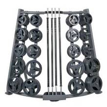 Deluxe CardioBarbell Rack 20 Set Storage Rack ONLY