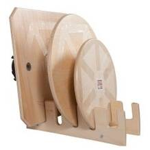 Rocker and Wobble Boards SET of 3 with stand (20 lbs)