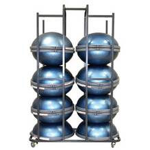 Large Storage Rack for BOSU  Rack + 14 BOSU Pros